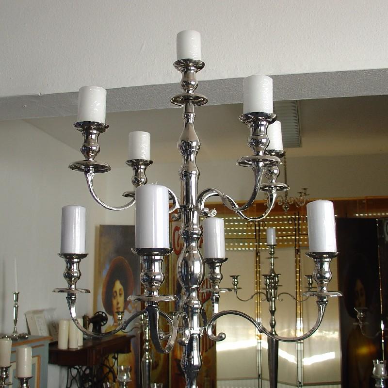 riesen kerzenleuchter kerzenst nder kerzenhalter big 9 flammig 180 cm wedding ebay. Black Bedroom Furniture Sets. Home Design Ideas