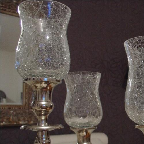 gro er glasaufsatz f r kerzenleuchter kerzenst nder ebay. Black Bedroom Furniture Sets. Home Design Ideas