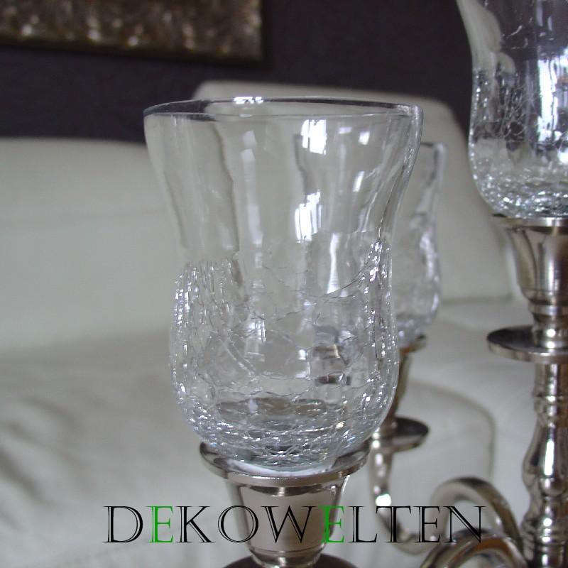 glasaufsatz f r kerzenleuchter kerzenst nder teelichthalter teelicht klein ck ebay. Black Bedroom Furniture Sets. Home Design Ideas