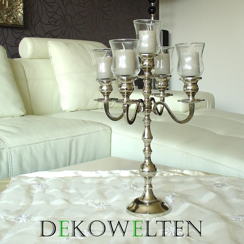 kerzenleuchter kerzenst nder leuchter 35cm 5flammig f r event 633643682090 ebay. Black Bedroom Furniture Sets. Home Design Ideas